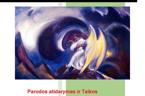 Sviatoslavo Rericho paveikslų reprodukcijų paroda