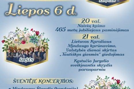 Naivių kaimo 456 metų paminėjimas ir tautiškos giesmės giedojimas