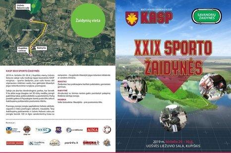 XXIX Sporto žaidynės