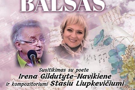 Susitikimas su poete Irena Gildutyte-Navikiene ir  kompozitoriumi Stasiu Liupkevičiumi