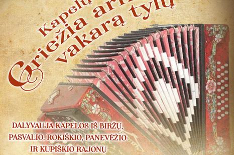 """Kapelų šventė """"Griežia armonika vakarą tylų"""""""