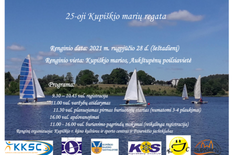 25-oji Kupiškio marių regata
