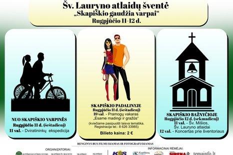 Šv. Lauryno atlaidų šventė Skapiškyje!