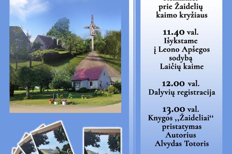 Jubiliejinė Žaidelių kaimo šventė - 440