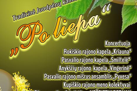 """Tradicinė Juodpėnų kaimo šventė """"Po liepa"""""""