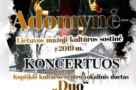 Adomynė - Lietuvos mažoji kultūros sostinė 2019 m.