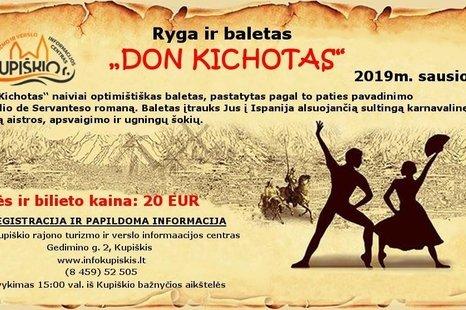 "Ryga ir baletas ""Don Kichotas"""