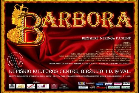 "Spektaklis ""Barbora"""