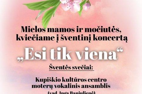 Šventinis koncertas Lukonyse!