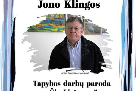 Jono Klingos tapybos darbų paroda