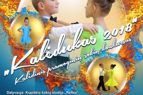 Kalėdinis pramoginių šokių konkursas