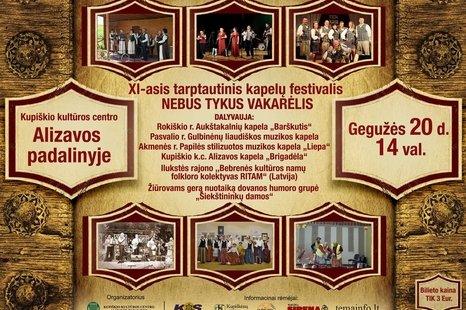 Kapelų festivalis Alizavoje