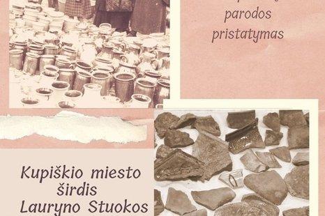Fotografijų, archeologinių radinių ir etnografijos eksponatų parodos pristatymas