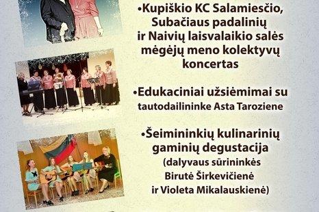 MENO IR SPORTO ŠVENTĖ LAIČIUOSE!!!