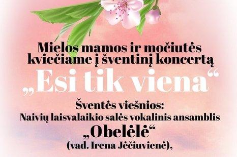 Šventinis koncertas skirtas Motinos dienai Lukonyse