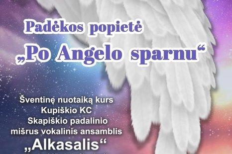 """Padėkos popietė """"Po angelo sparnu"""""""