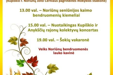 Rudens šventė Noriūnuose