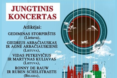 """Tarptautinis dainuojamosios poezijos festivalis """"TAI - AŠ"""""""