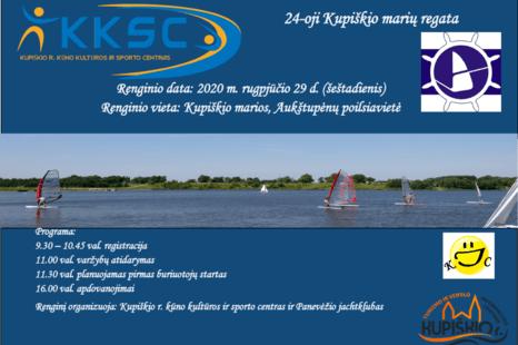 24-oji Kupiškio marių regata!!!