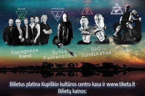 """Kūrybos ir meno festivalis """"Stichijos"""" Kupiškio marių saloje!"""