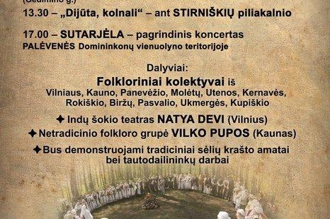 Aukštaitijos regiono sutartinių šventė