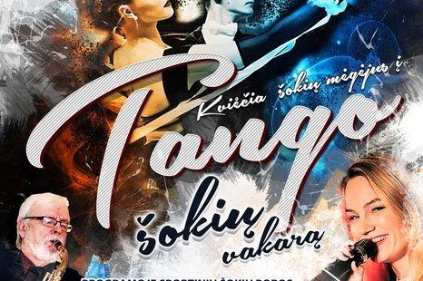 Tango šokių vakaras
