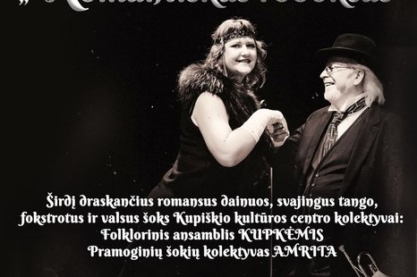 """UŽSIGAVĖJIMO PAVAKAROJIMAS """"ROMANTIŠKAS ROBOKSAS"""""""